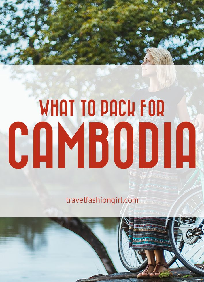 Need help packing for Cambodia? Find out what clothes to wear in Siem Reap, Phnom Penh, and Sihanoukville! | TravelFashionGirl.com