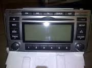 2006 Hyundai Santa FE Radio / CD Player / GPS  Model:	Santa FE  Item:	Radio / CD Player / GPS  OEM Genuine Quality  Option:	AM-FM-stereo-CD-cassette  (change)  Items Available:	1  Average Price:	$96.00 (SHIPPING included)