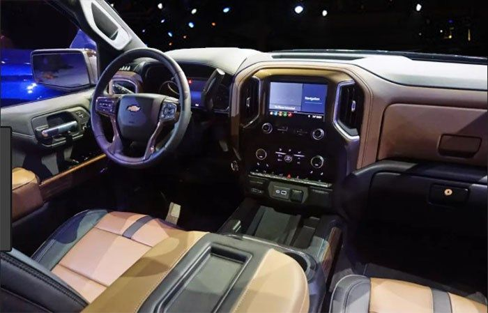 2019 Chevrolet Silverado 1500 Diesel Interior Car New Trend