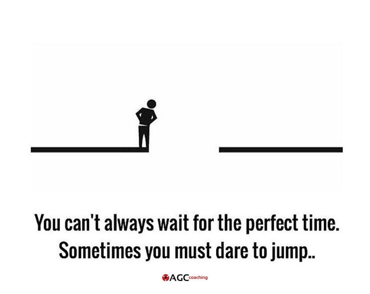 Perfect moment, perfect person, perfect job, perfect gift,...dare and see what happen. You could be surprised about what's gonna happen.