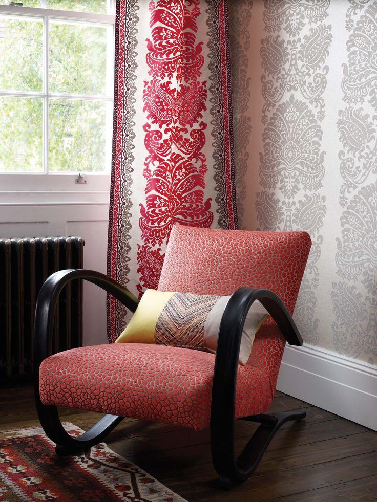 New Collection Fabrics Wallpapers Matthew Williamson At Osborne Little Autumn