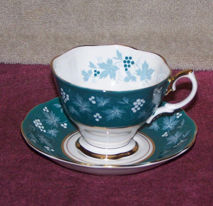 Vintage Royal Albert English Bone China Tea Cup and Saucer | eBay