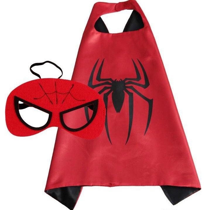 Spiderman Superhero Cape and Mask Set. Kids Birthday Party Favors. by LilPartyTreasures on Etsy