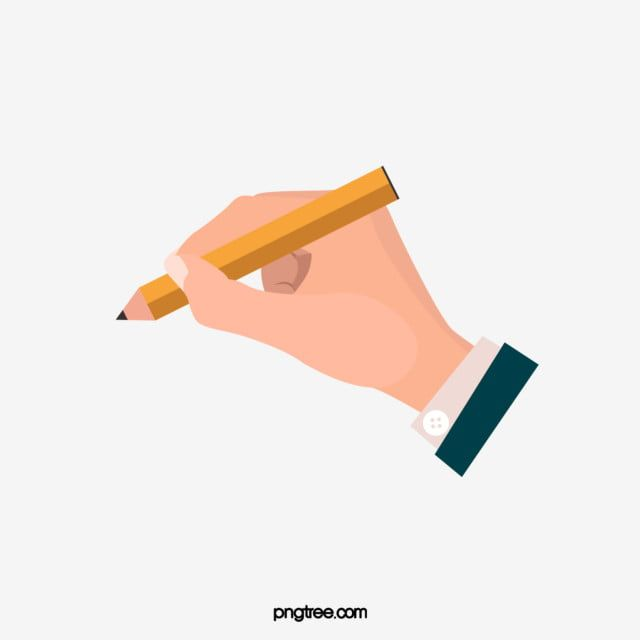 Cartoon Hand Drawn Holding Pen Cute Illustration Holding A Pen Exquisite Design Png Transparent Clipart Image And Psd File For Free Download How To Draw Hands Cartoon Clip Art Cute Illustration