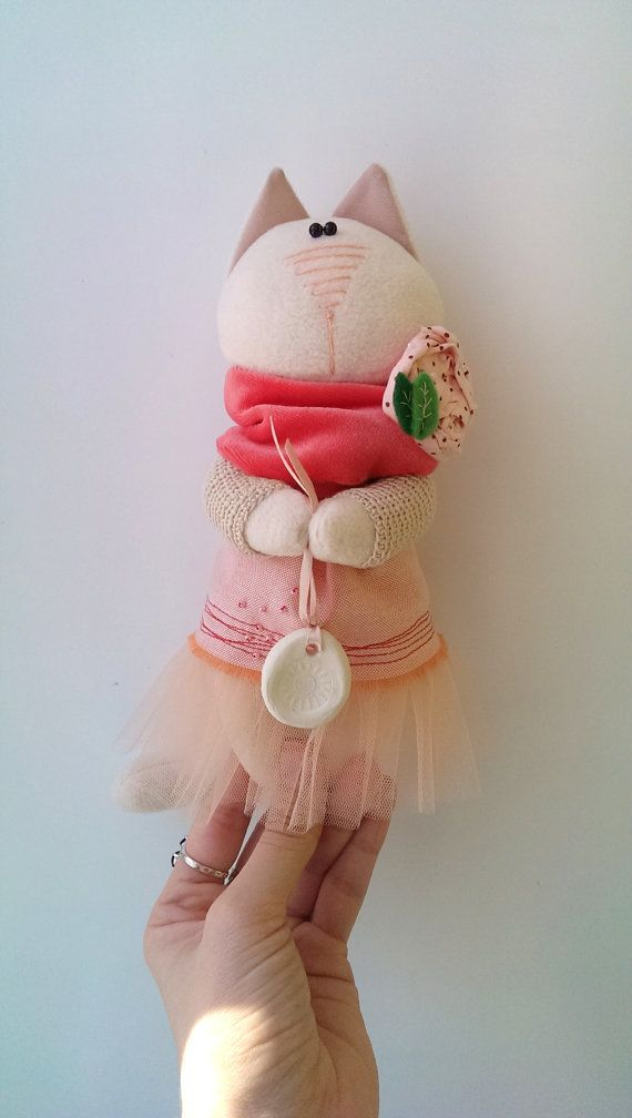 Игрушка Кошка Розовые мечты Подарок девочке Декор от KotOmkaRU
