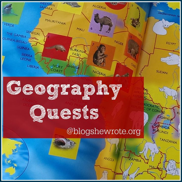 The home page for Geography Quests on Blog, She Wrote. Come learn about what they are and how to implement them in your homeschool. Plus, there are links to 35+ published Geography Quests.