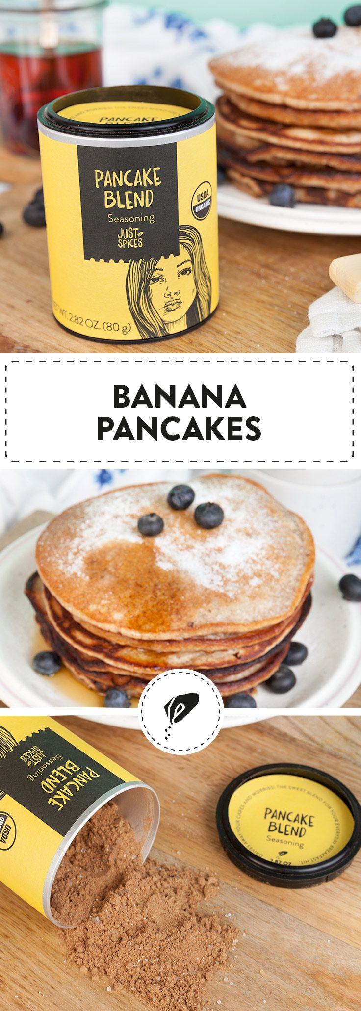 We're going banana's for these pancakes 🍌🥞  How do you make a banana pancake? We'll show you how to make healthy, easy, and most importantly delicious banana pancakes in the blink of an eye. 👀  #bananapancakes #pancakesforbreakfast #pancakerecipe