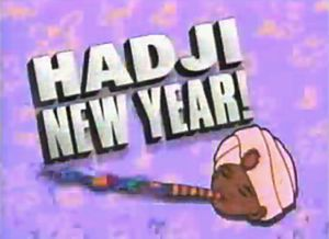 Hadji New Year! was a special 6-hour New Year's Eve block that aired on Cartoon Network from 9:00 PM to 3:00 AM on December 31, 1994. In 2003, Boomerang, Cartoon Network's classic animation network, similarly celebrated the new year with a special block also titled Hadji New Year!. The full-day marathon on New Year's Eve (Dec. 31, starting at 8:00 AM) featured 26 original half-hr episodes from the 1964 Jonny Quest series, as well as 2 made-for-TV feature films Jonny's Golden Quest (1993) and…