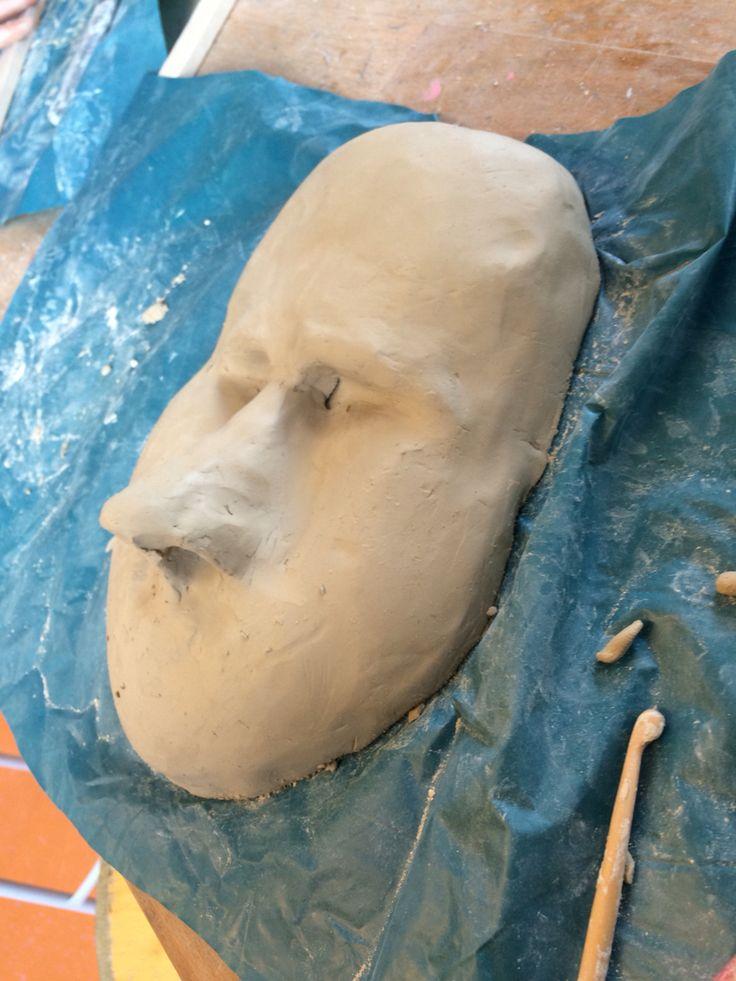 Masker van de zijkant