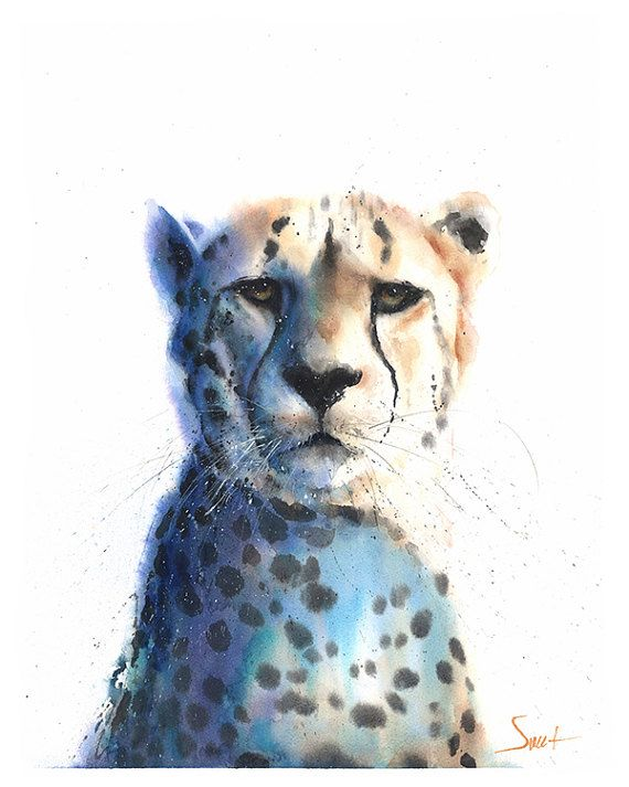 64 best Animal Watercolor Paintings images on Pinterest ...