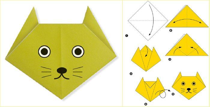 Origami Zhivotnyh Iz Bumagi Dlya Detej Shemy Lyogkie 10 Tys Izobrazhenij Najdeno V Yandeks Kartinkah Origami Zhivotnye Origami Podelki
