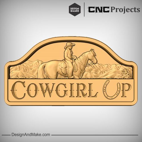 Hack of the Week No.87 — Design and Make CNC Projects - Cowgirl up!