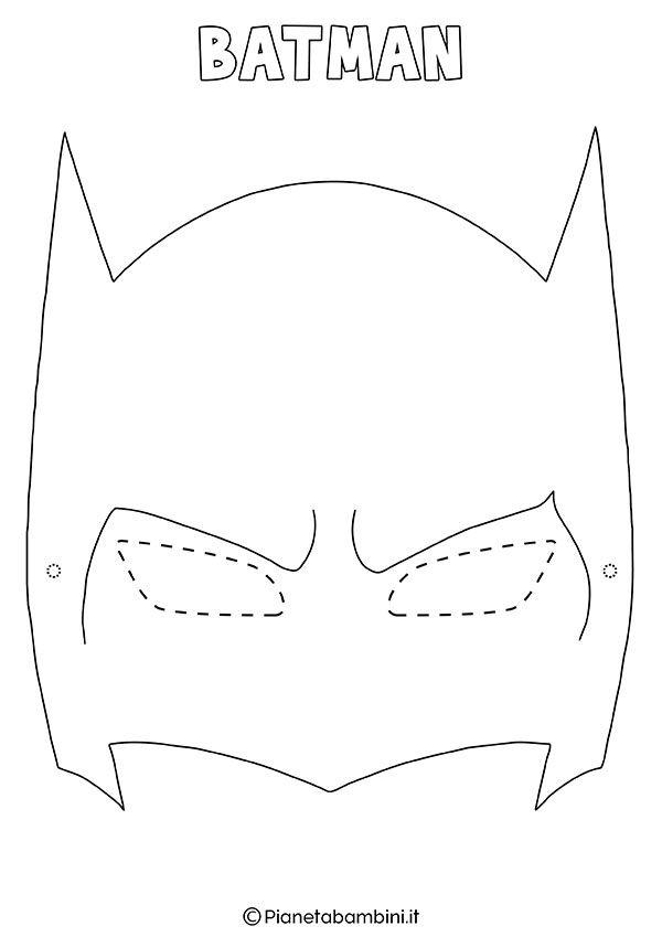 batman maske zum ausdrucken  ausmalbilder und vorlagen