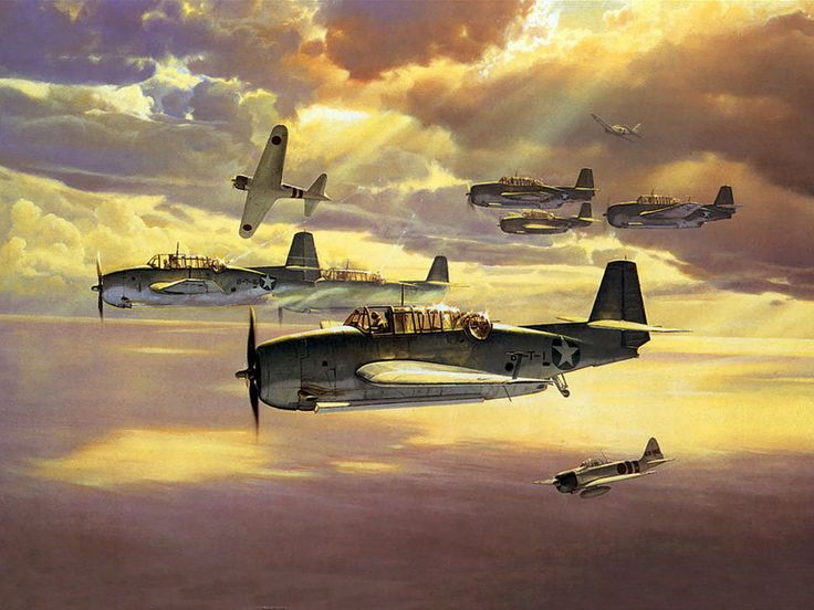Only One Survived, by Craig Kodera (TBF Avenger & A6M2 Zero)