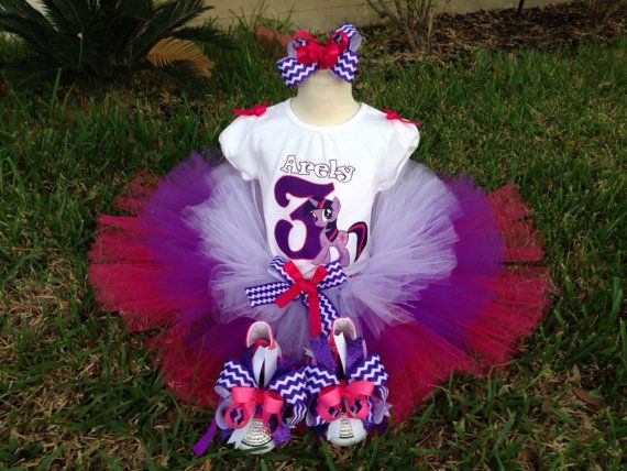 My little Pony Twilight Sparkle tutuMy little by Mypartygoodies