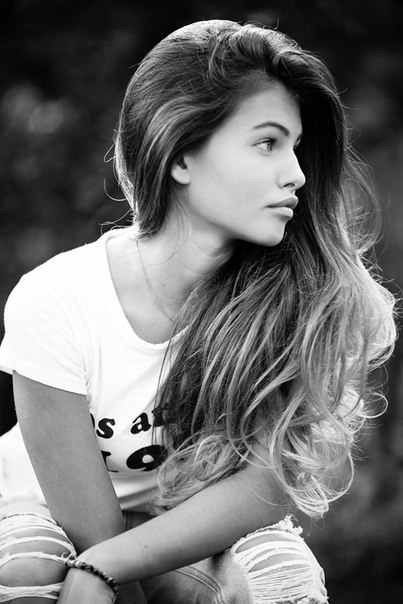Thylane Blondeau*. she has the best side profile I have ever seen.
