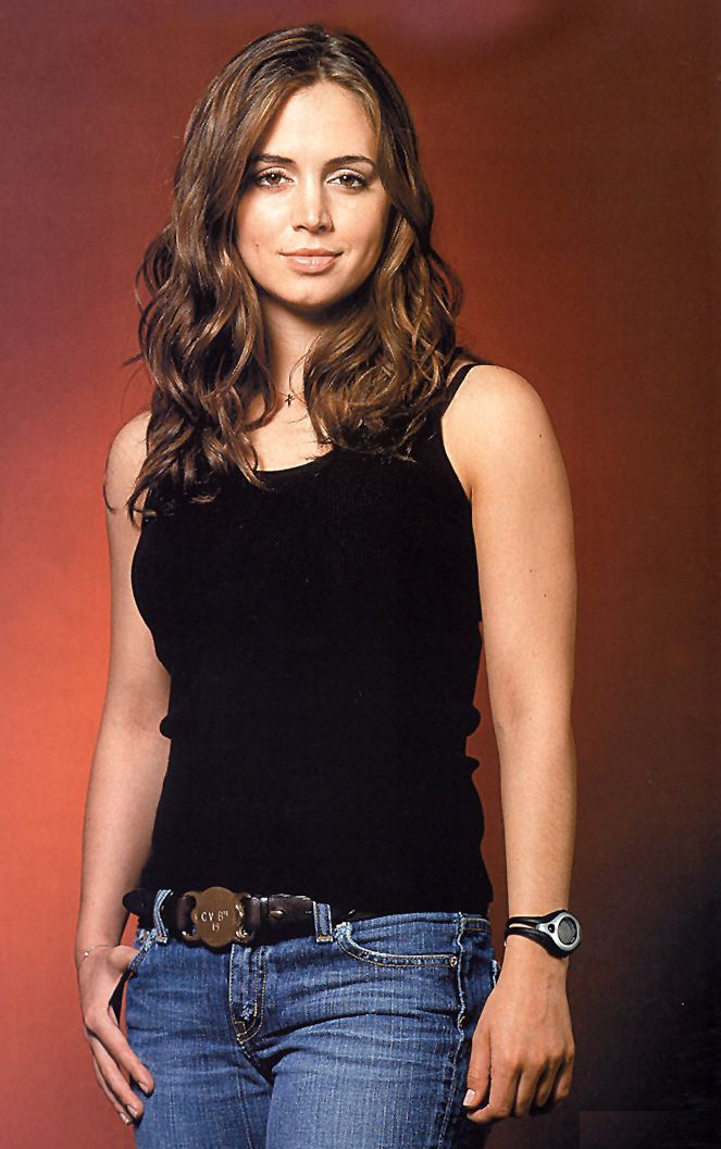 Eliza Dushku has played some kick-butt characters: Faith in Buffy, Echo in Dollhouse was in Tru Calling.