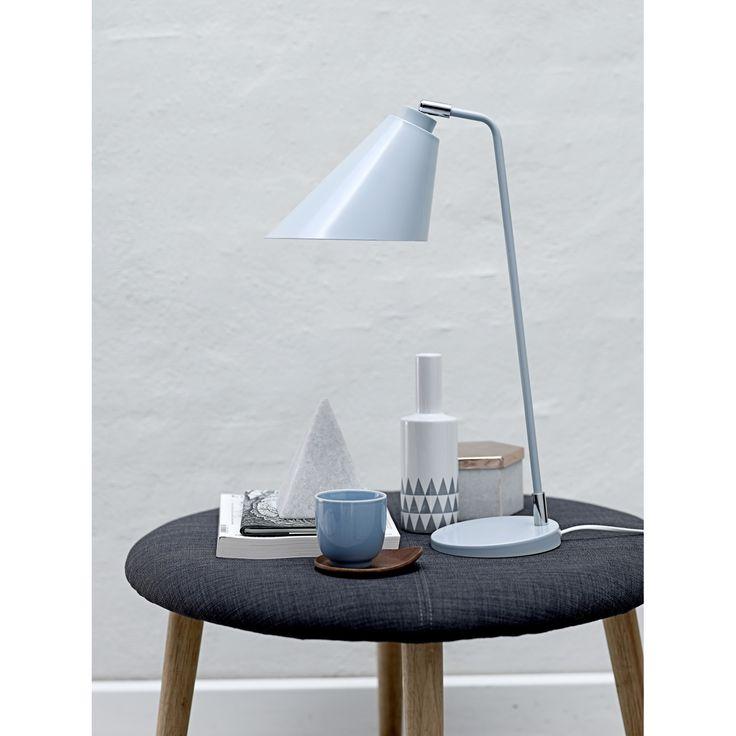 Beep bordlampe, grå – Bloomingville – Køb møbler online på ROOM21.dk