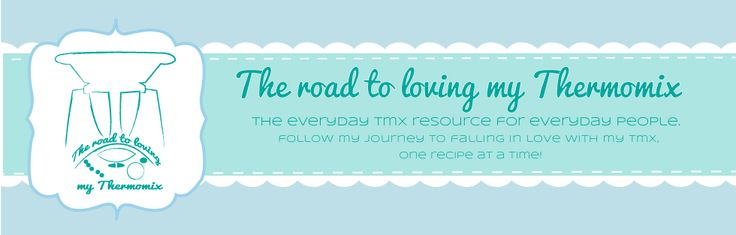 The road to loving my Thermomix