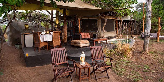 Cassia Suite at Chongwe River Camp - Lower Zambezi National Park #Zambia