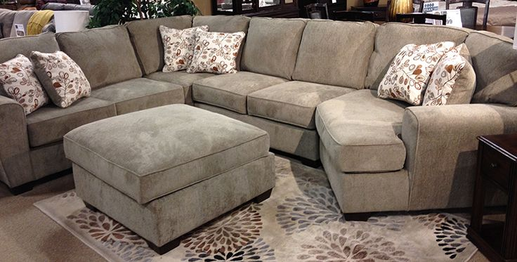 Patola Park Patina Sectional With A Stylish Contemporary Design And Numerous Modular Pieces To