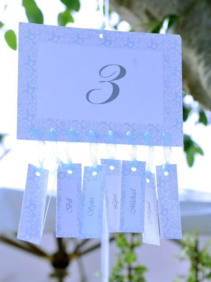 wedding table plan lace graphic ribbon tree