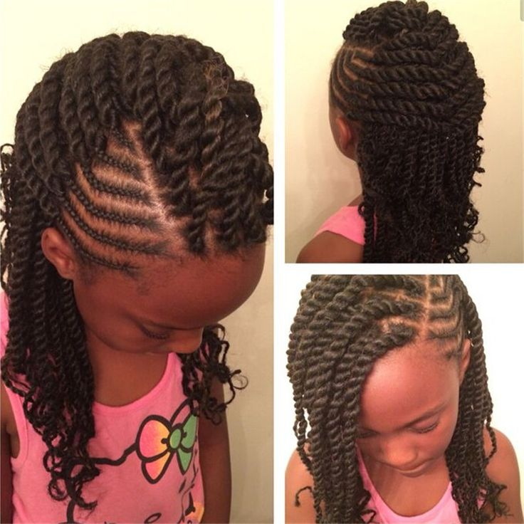 Astonishing 1000 Ideas About Kids Box Braids On Pinterest Tree Braids Box Hairstyles For Men Maxibearus