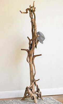 easily made from beach wood or branches from your favourite park.  How environmentally friendly :)