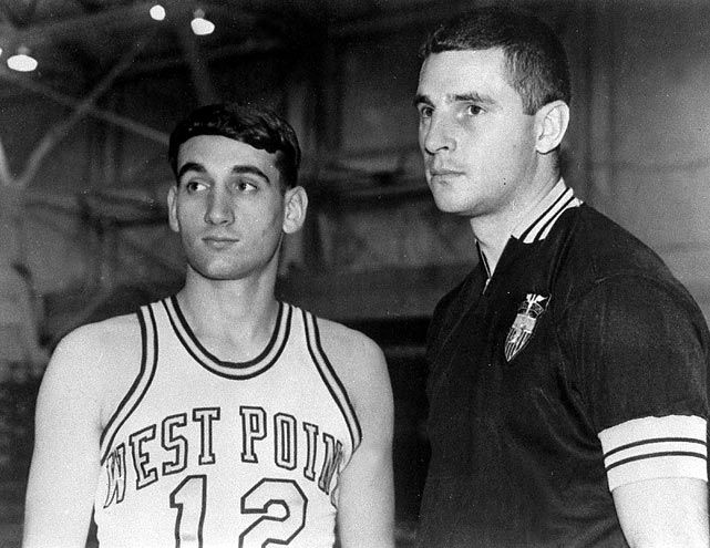 Bobby Knight Family | Grant, can you throw the ball 75 feet?' said Krzyzewski.
