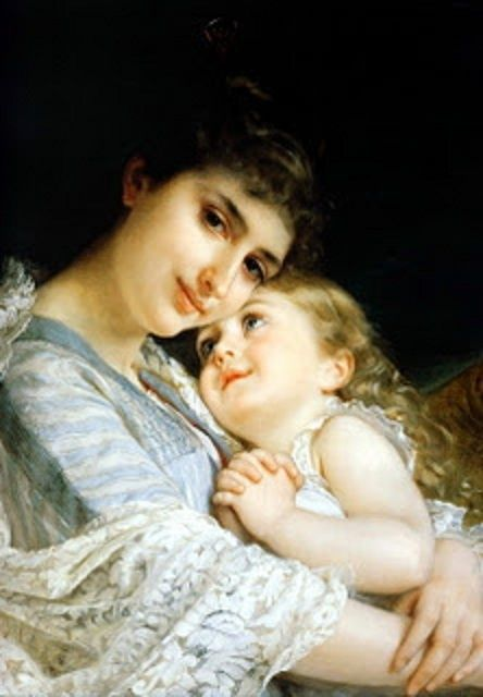 "Emile Munier's ""A Tender Embrace"", 1887."