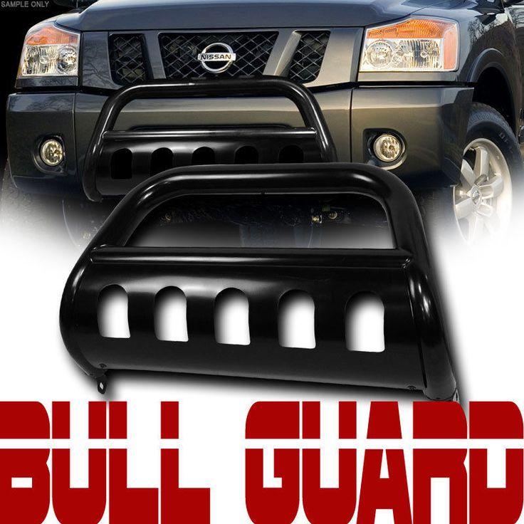 Details about Blk Heavyduty Bull Bar Brush Push Bumper ...
