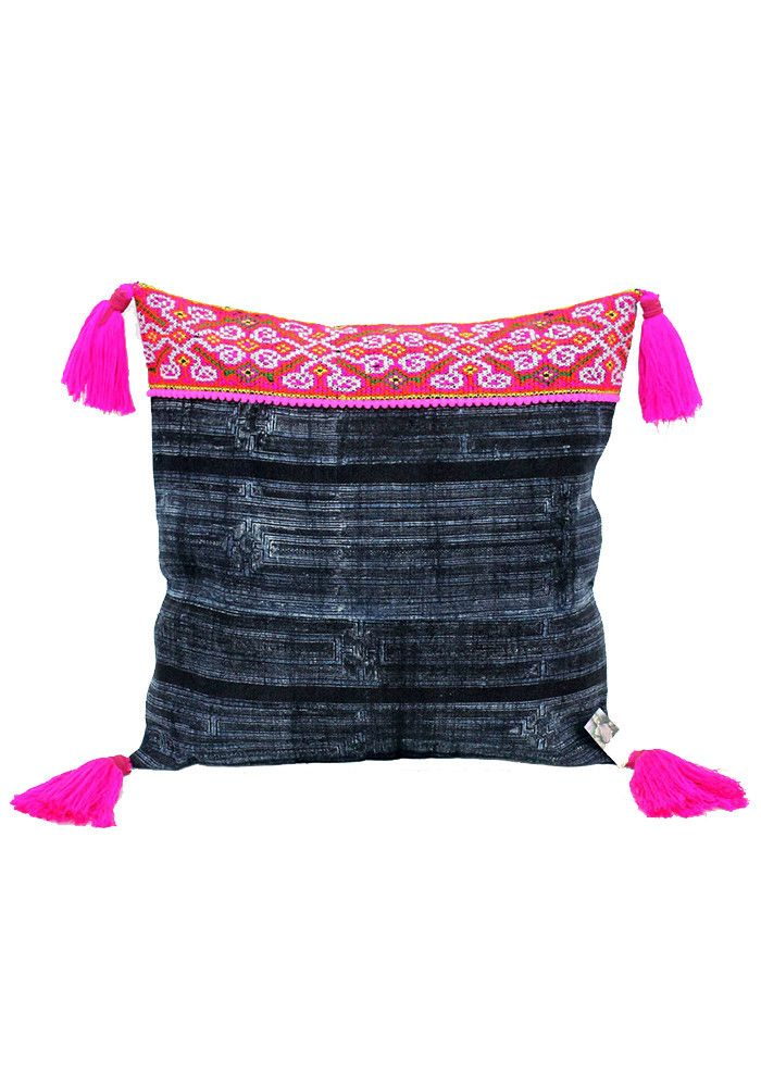 Suna Pillow with tassels-DKH