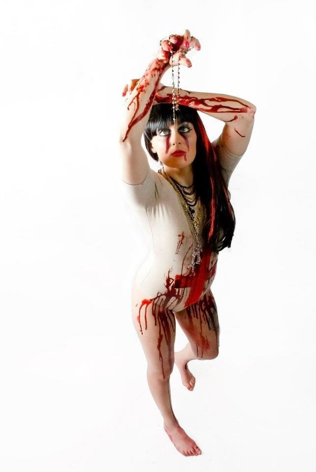 BROOKE CASHION PHOTOGRAPHY 'Bloody Mary' LADY GAGA - BORN THIS WAY PROJECT