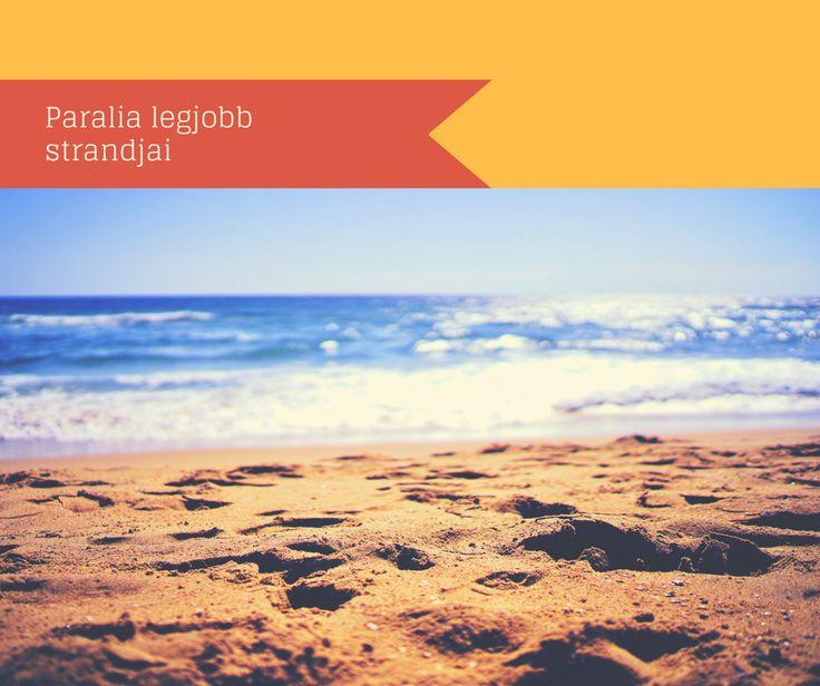 Paralia legjobb strandjai - Görögország nyaralóhelyei