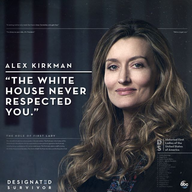 Alex Kirkman #DesignatedSurvivor | abc in 2019 | Designated survivor