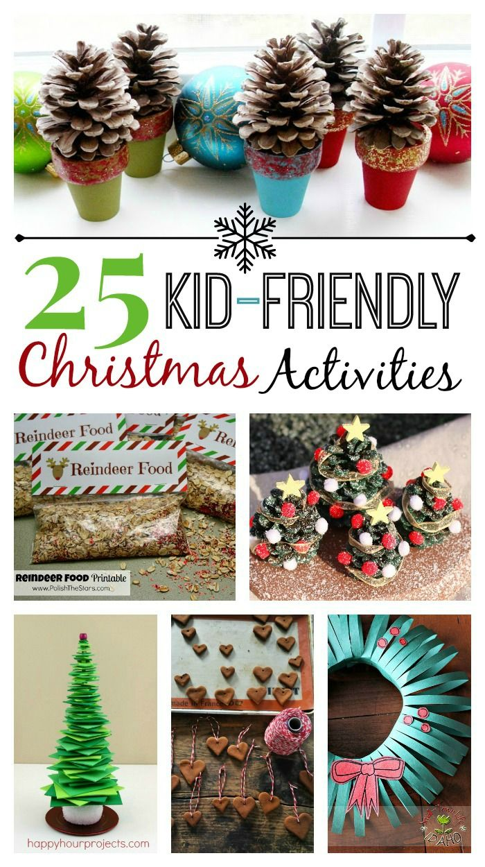 25 Kid-Friendly Christmas Activities | White Lights on Wednesday