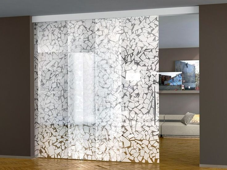 Superb Decorated Glass Movable Wall / Sliding Door OTTu0027ANTA WHITE Solutions  Collection By Casali Home Design Ideas