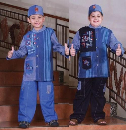 model baju muslim anak laki laki terbaru-7