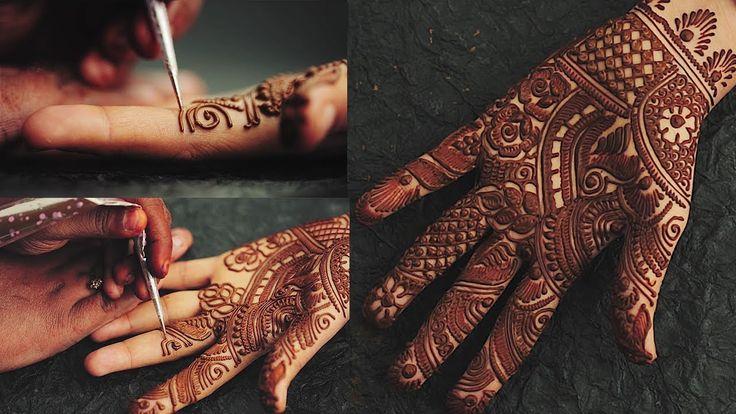 #mehndi #mehandi #mehndidesign #bridalmehndi #howtoapplymehndi #mehndistepbystep #fullhandmehndi - Indian Bridal Mehndi Design For Full Hands Step By Step | How To Apply Mehndi On Hands For Beginners