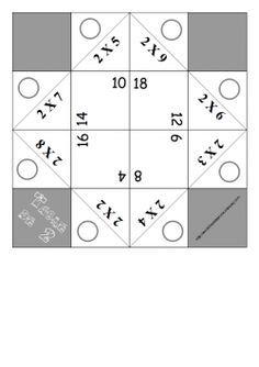 Cocotte attitude pour les tables de multiplication.