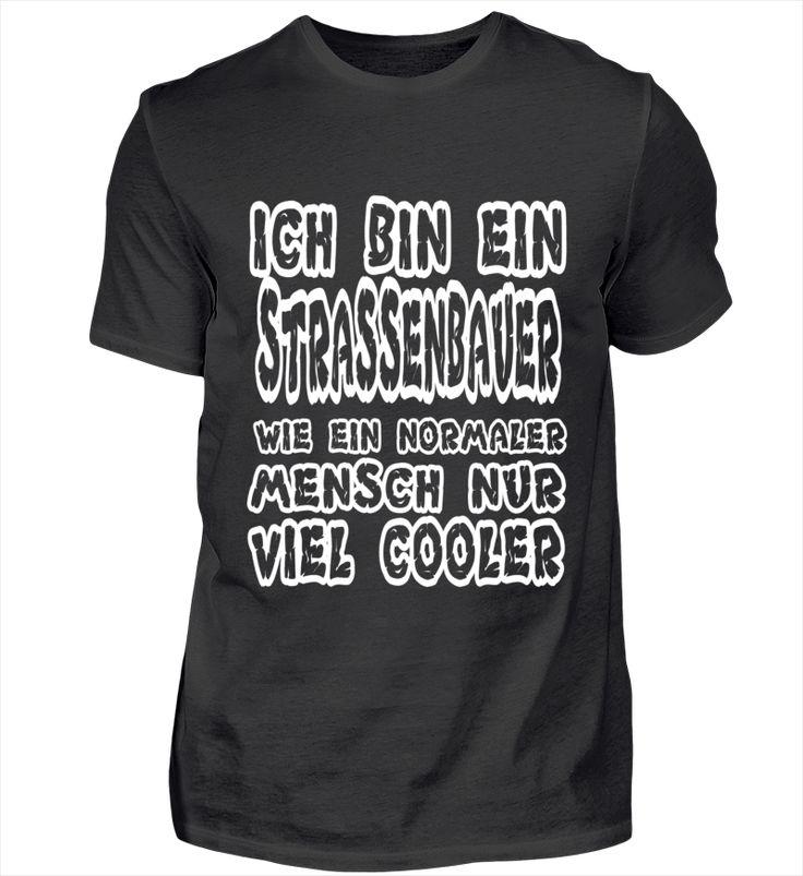 Cooler Strassenbauer