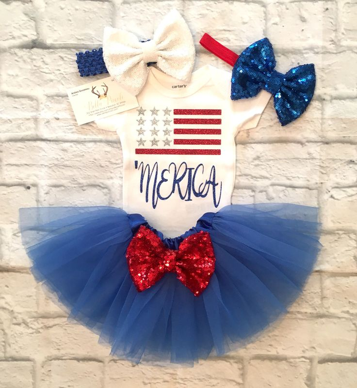 A personal favorite from my Etsy shop https://www.etsy.com/listing/520152378/baby-girl-clothes-fourth-of-july-merica