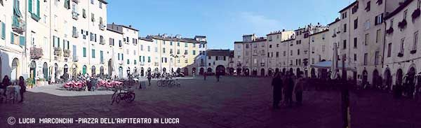 Lucca, piazza dell'Anfiteatro https://iliveintuscanyistantidiluciamarconcini.com/2016/12/30/lucca-piazza-dellanfiteatro/ #lucca #toscana