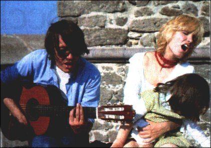 Fabrizio De André e Dori Ghezzi cantano
