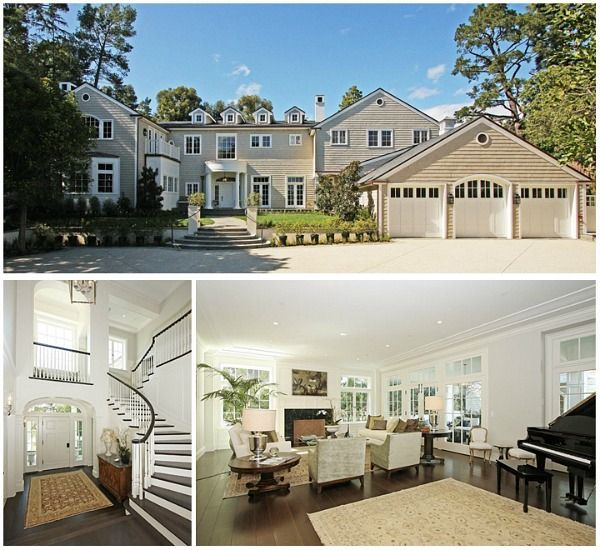 Harrison Ford and Calista Flockhart's new house LA