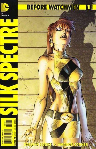 Before Watchmen: Silk Spectre #1 Variant