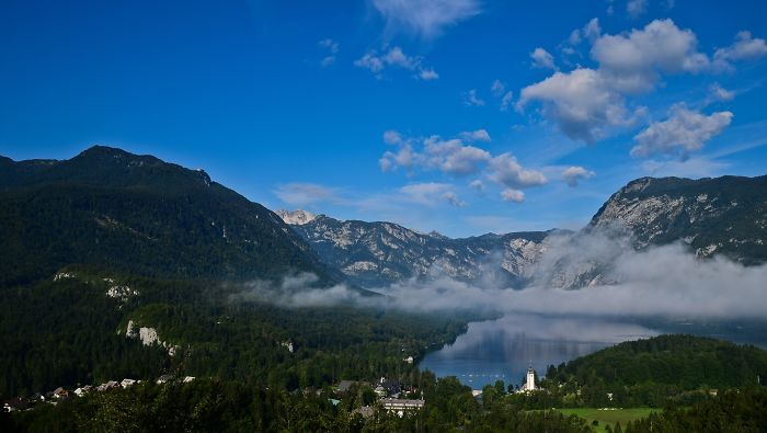 Faces Of Lake Bohinj (slovenia)