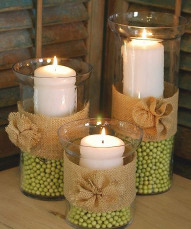 Easy DIY Home Decor With Beads To Make Decorative CraftsDIY Beaded Candle Holders And Curtains Making Centerpieces
