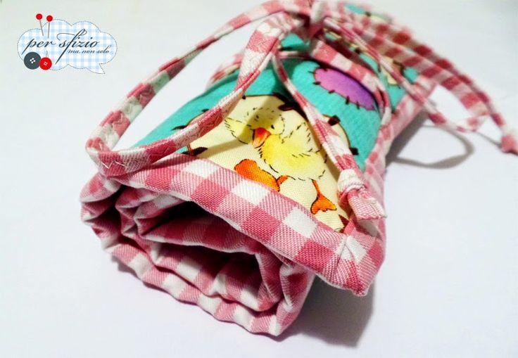 Cucito creativo - astuccio portamatite per la scuola...per Anita! - pencil case creative sewing patchwork