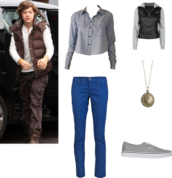 """""""Harry Styles Girlfriend #13"""" by harrysaddiction ❤ liked on Polyvore"""